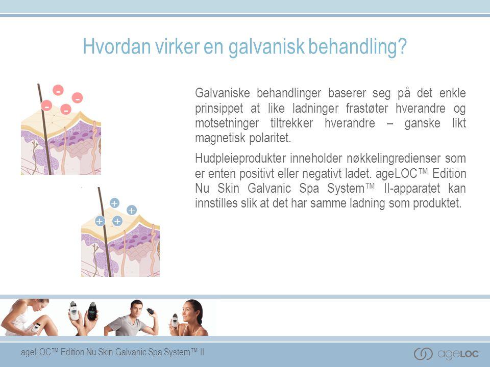 Hvordan virker en galvanisk behandling
