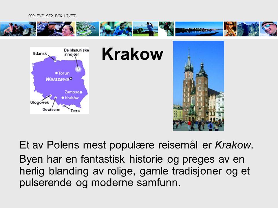 Krakow Et av Polens mest populære reisemål er Krakow.