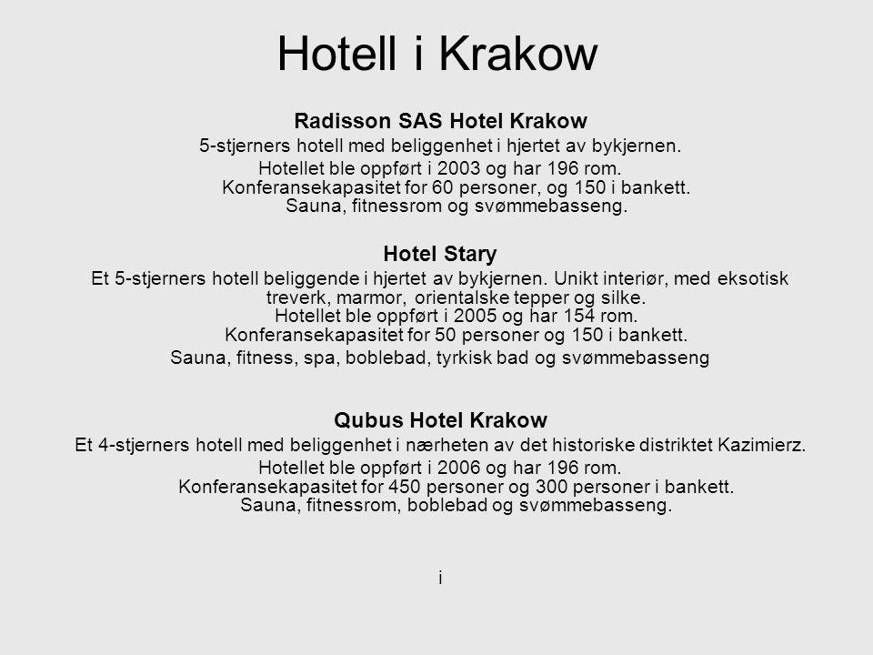 Radisson SAS Hotel Krakow