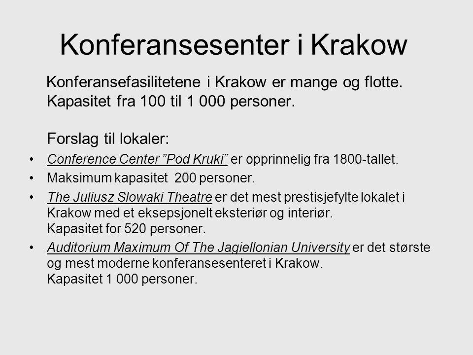 Konferansesenter i Krakow