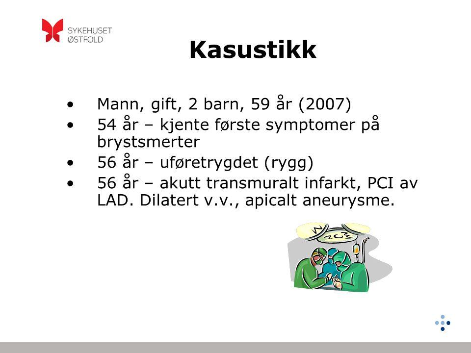 Kasustikk Mann, gift, 2 barn, 59 år (2007)