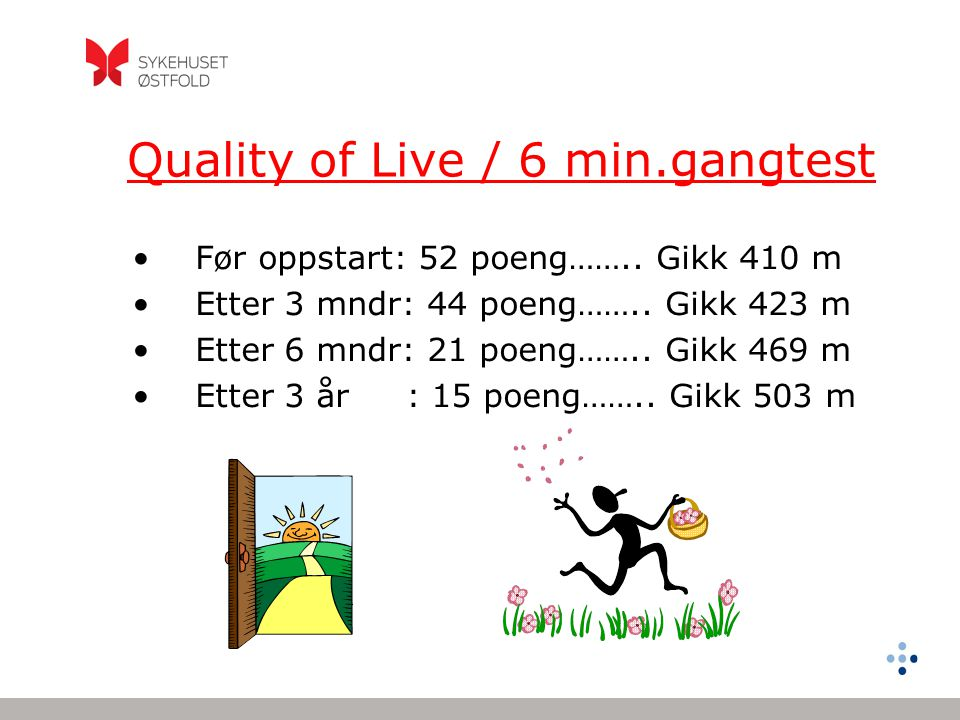 Quality of Live / 6 min.gangtest