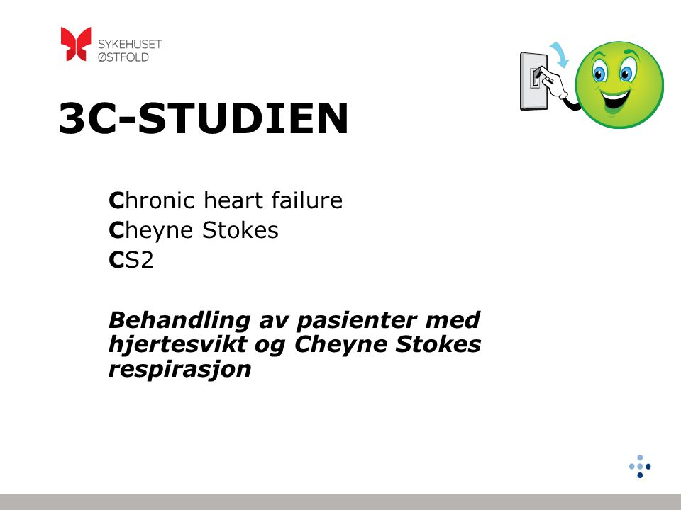 3C-STUDIEN Chronic heart failure Cheyne Stokes CS2