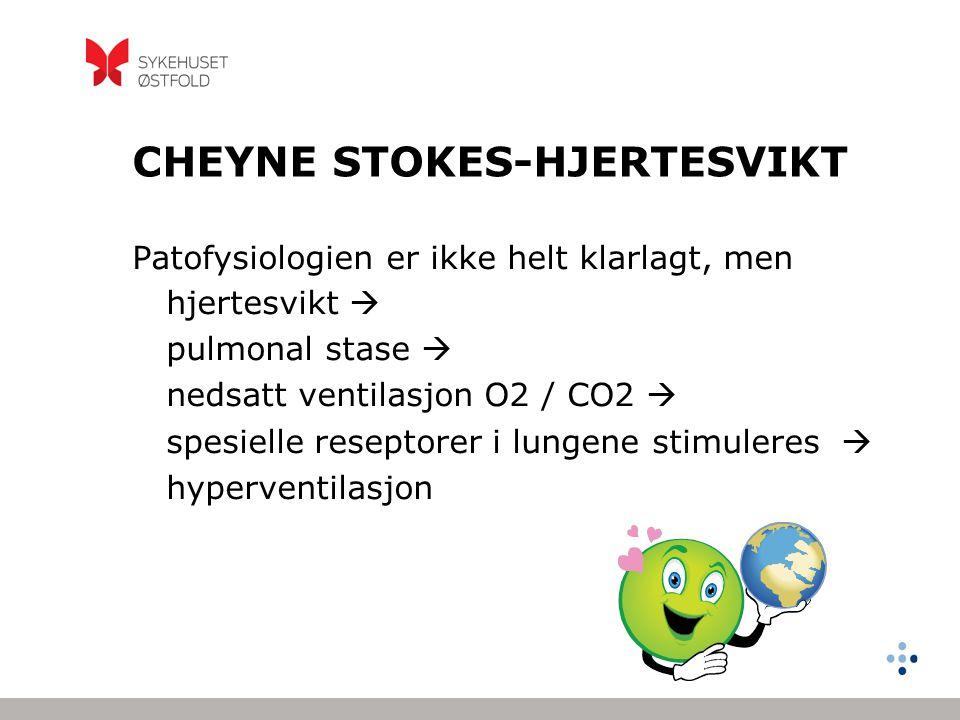CHEYNE STOKES-HJERTESVIKT