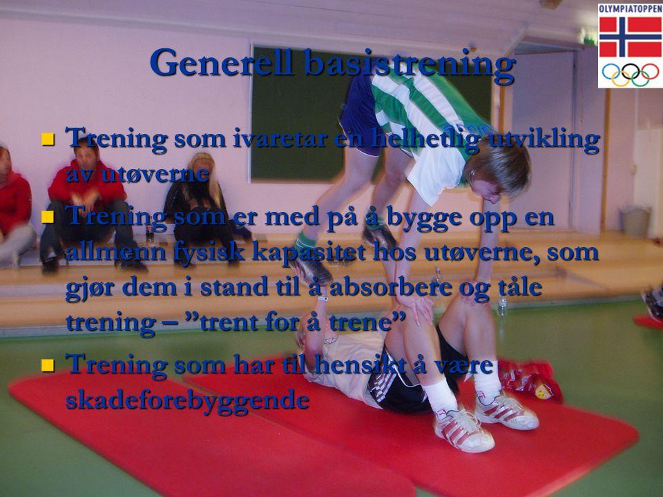 Generell basistrening