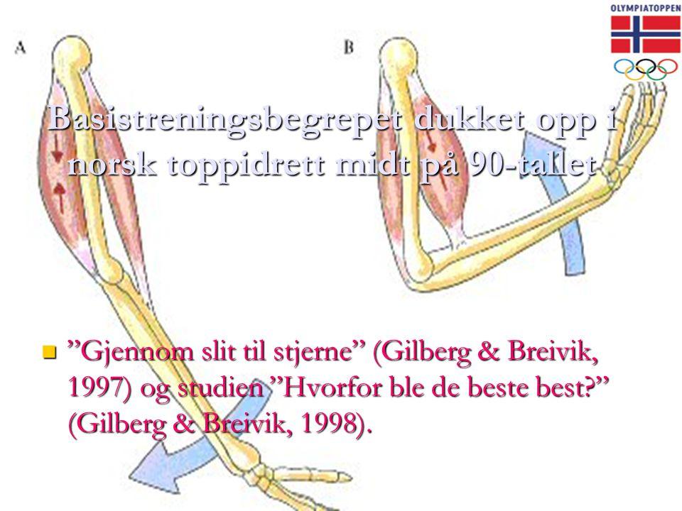Basistreningsbegrepet dukket opp i norsk toppidrett midt på 90-tallet