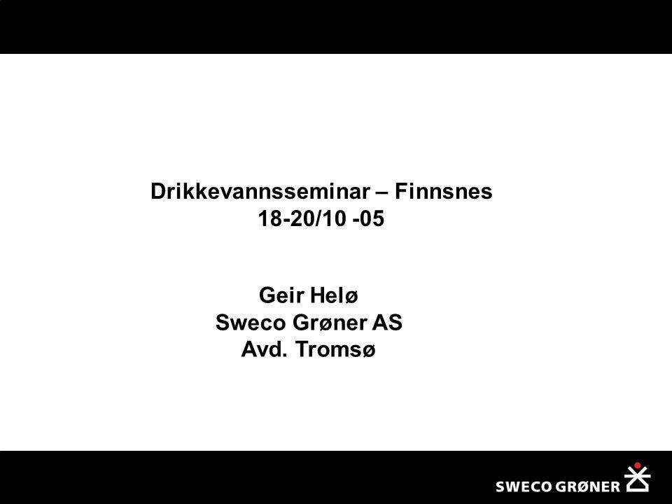 Drikkevannsseminar – Finnsnes