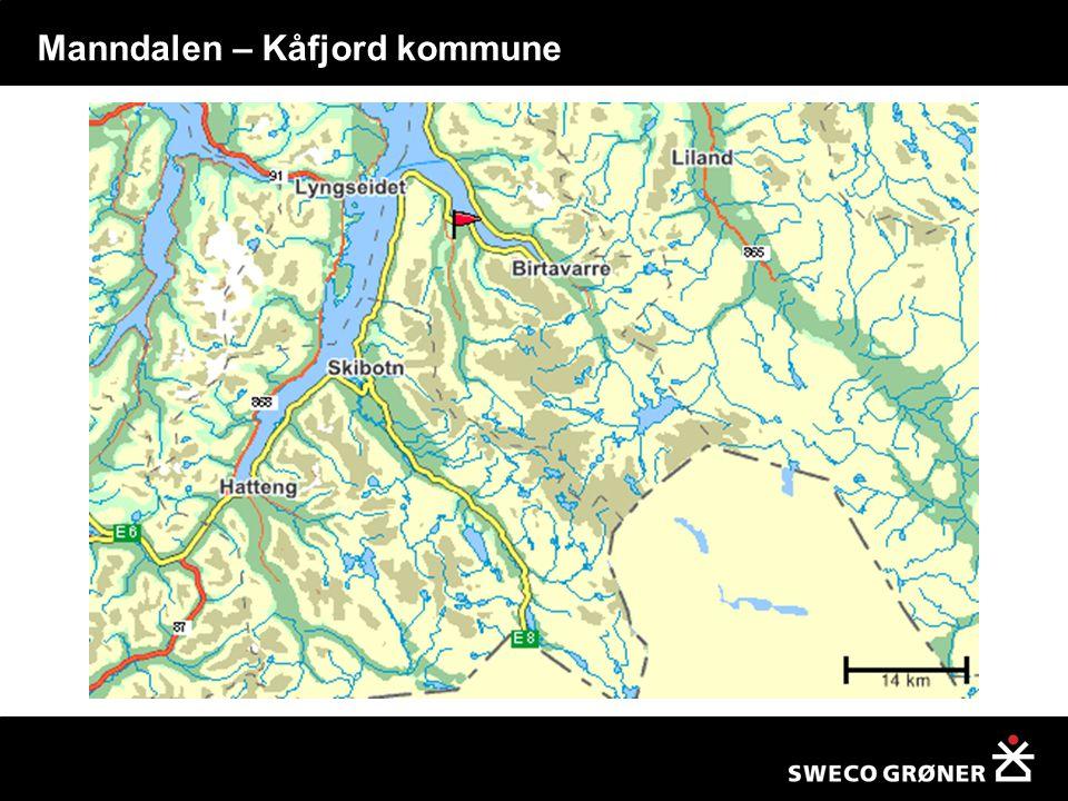Manndalen – Kåfjord kommune