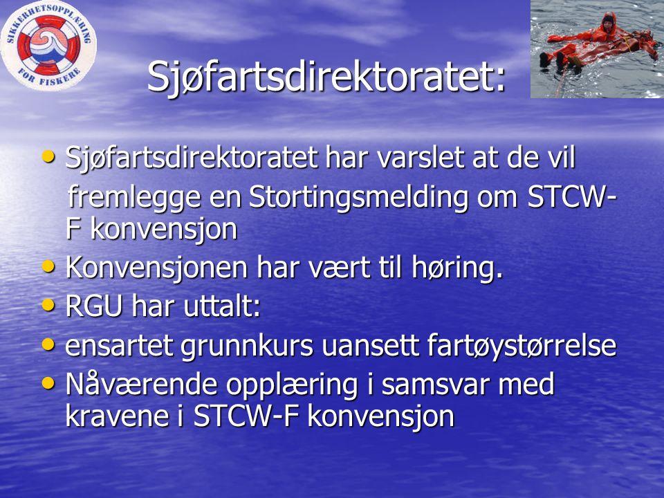 Sjøfartsdirektoratet: