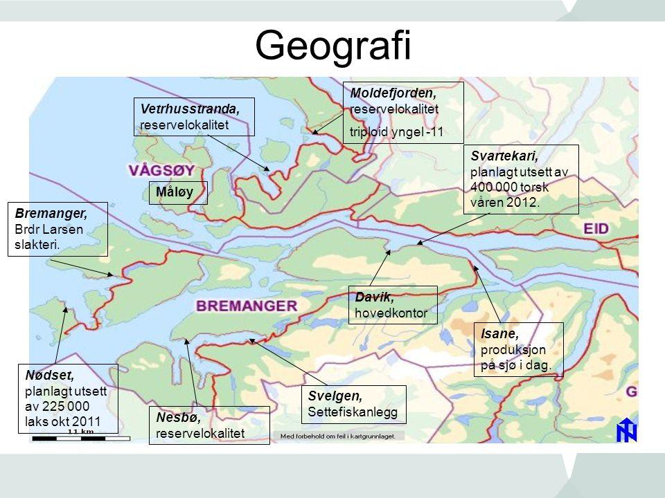 Geografi Moldefjorden, reservelokalitet triploid yngel -11