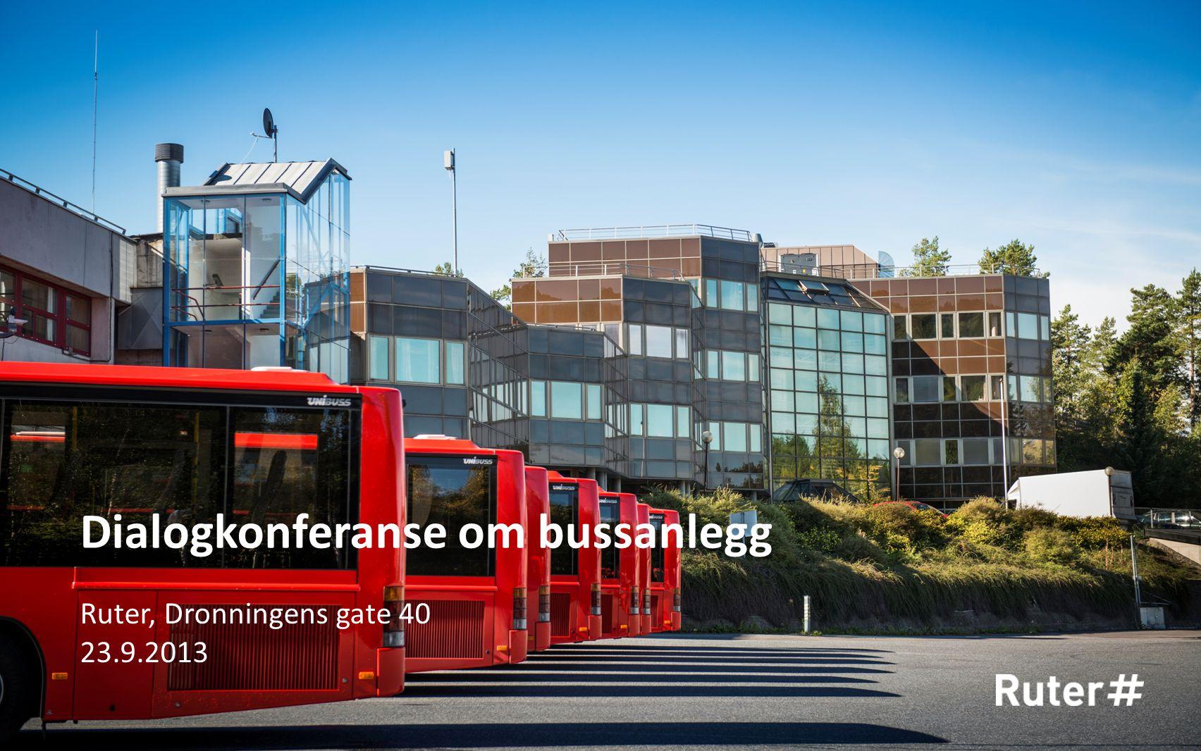 Dialogkonferanse om bussanlegg