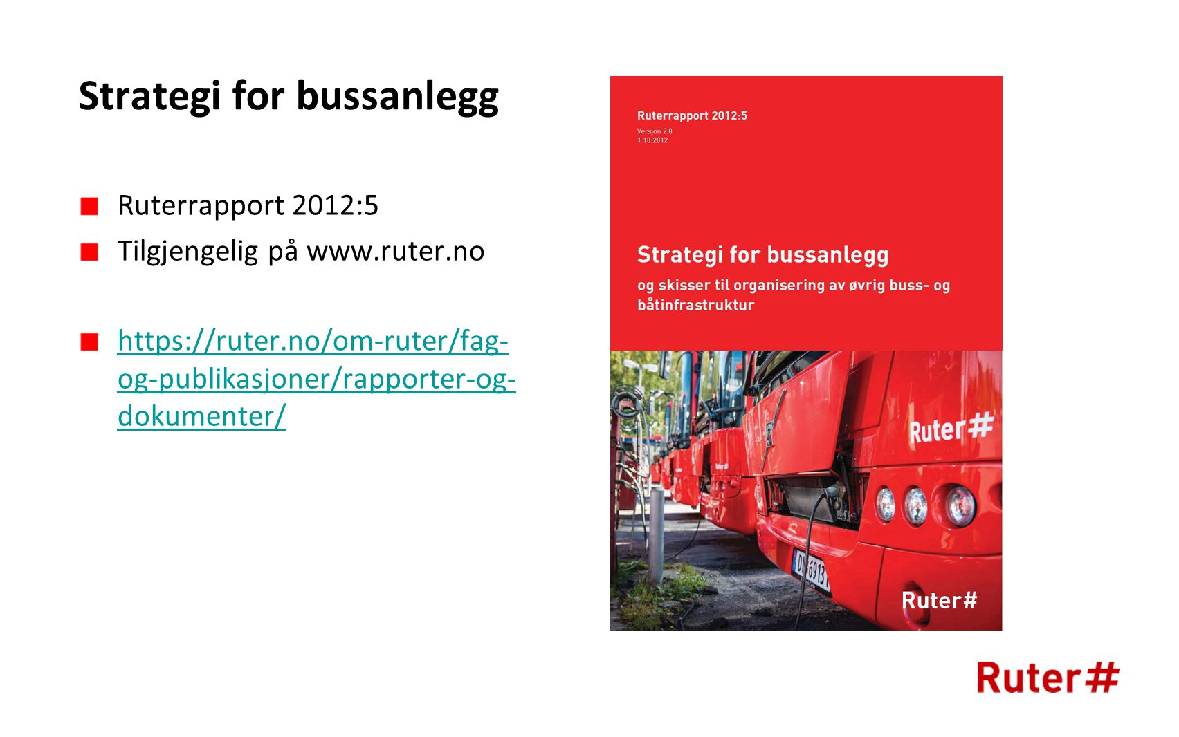 Strategi for bussanlegg