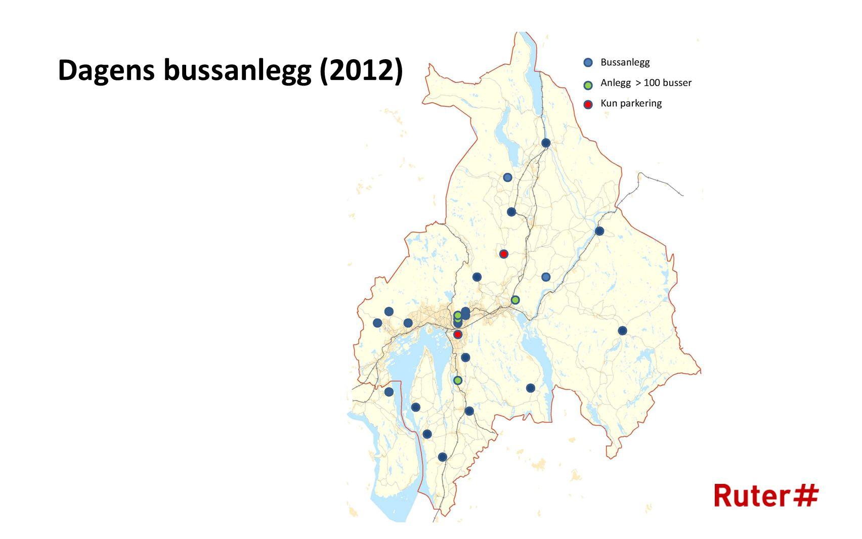 Dagens bussanlegg (2012)