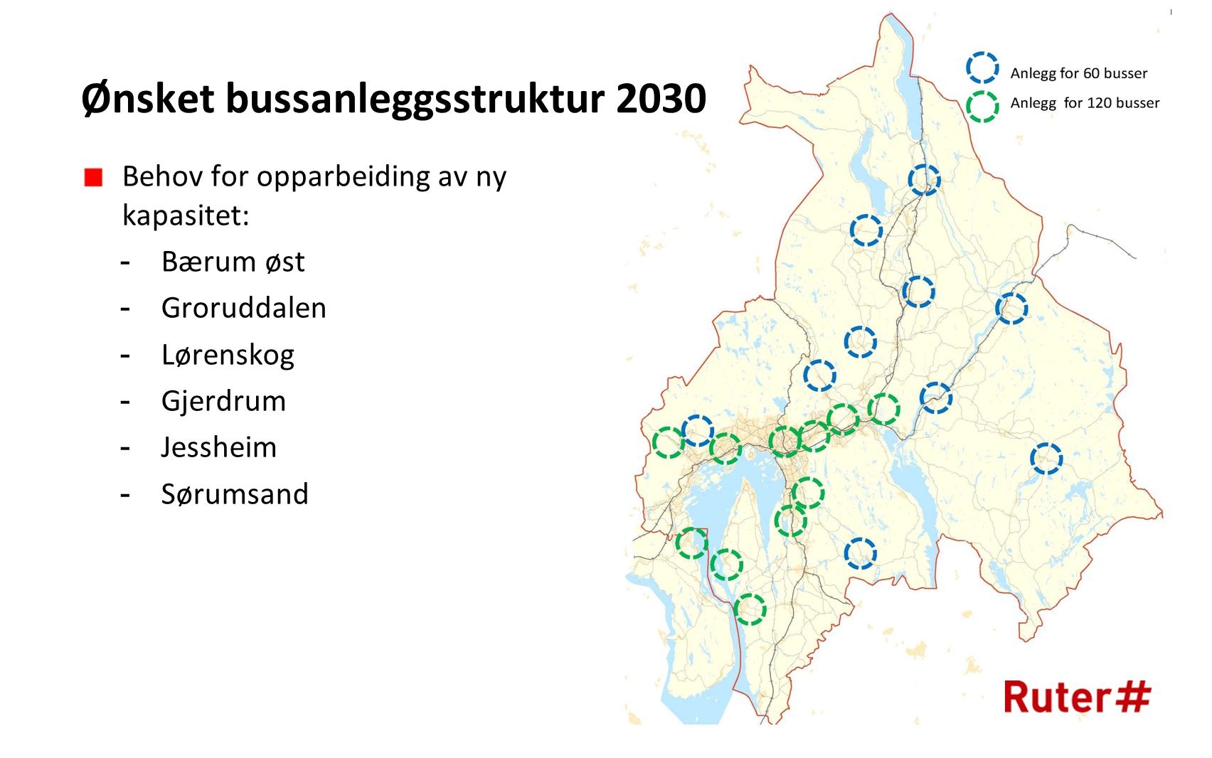Ønsket bussanleggsstruktur 2030