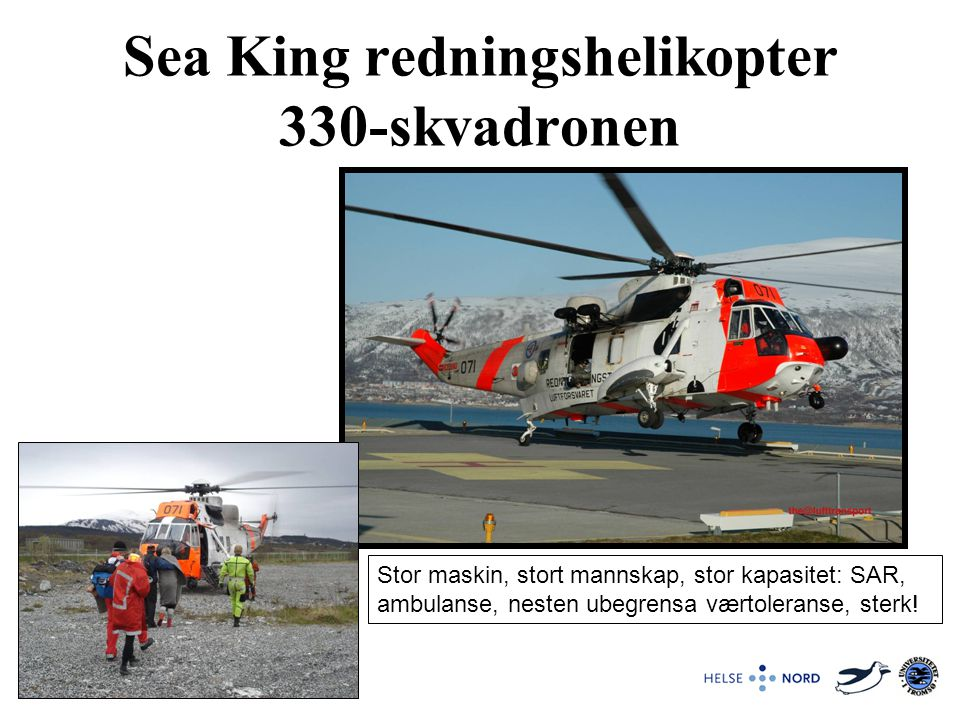 Sea King redningshelikopter 330-skvadronen