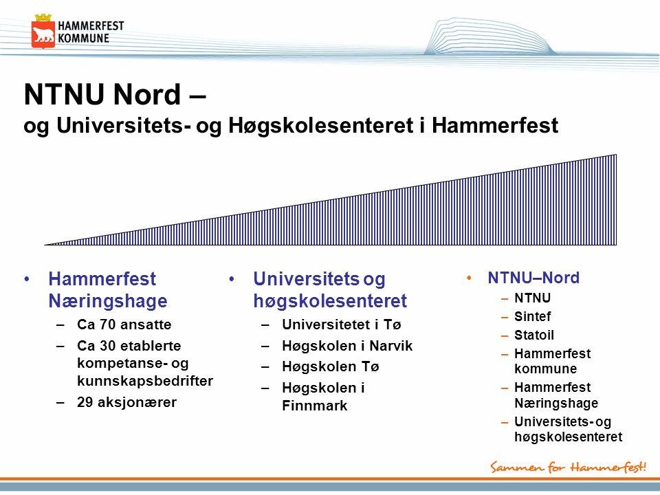 NTNU Nord – og Universitets- og Høgskolesenteret i Hammerfest