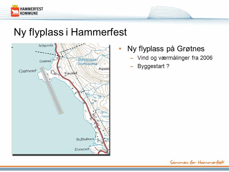 Ny flyplass i Hammerfest