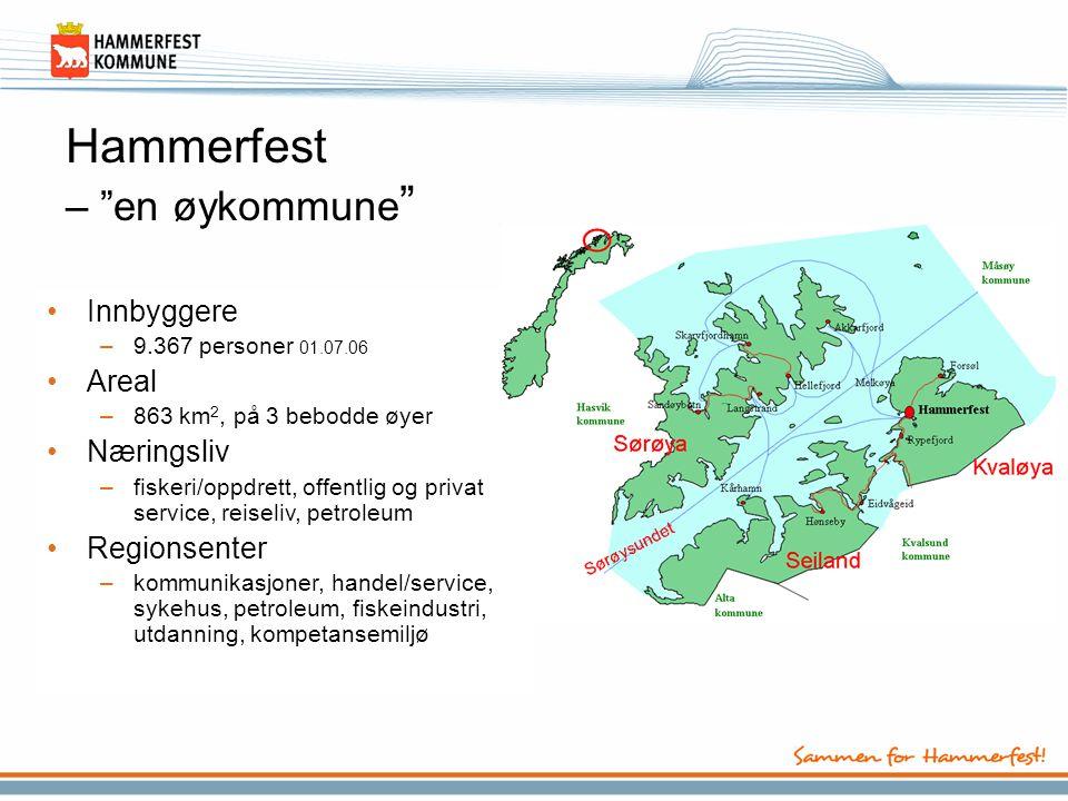 Hammerfest – en øykommune
