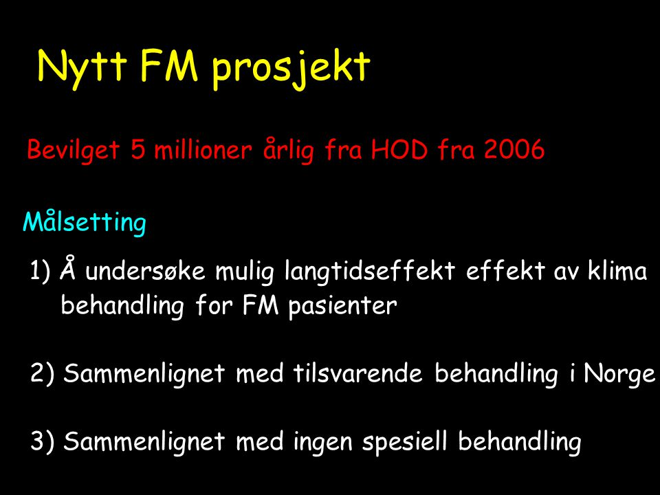 Nytt planlag NNytt FM prosjekt