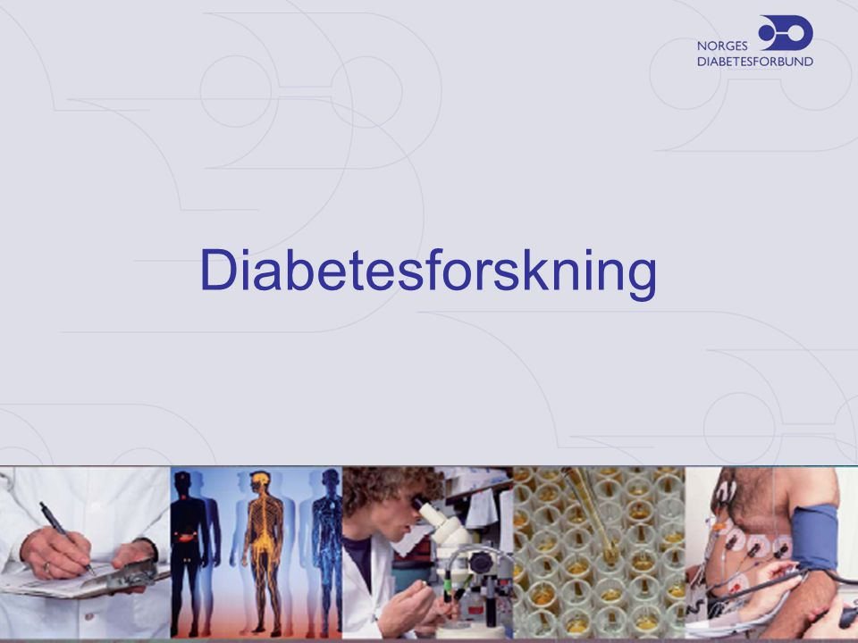 Diabetesforskning