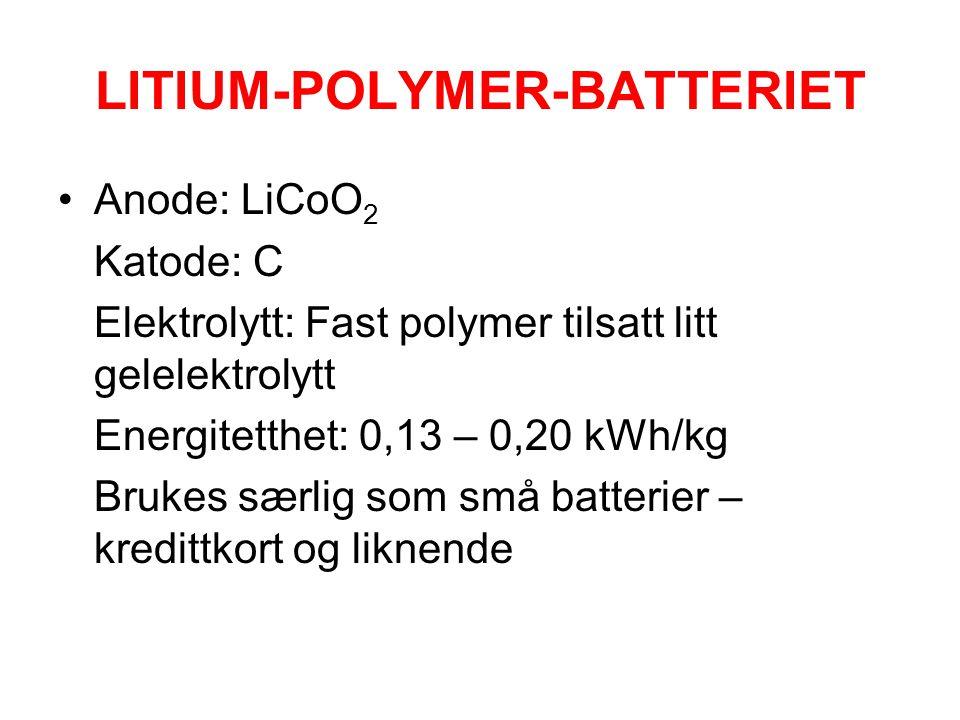 LITIUM-POLYMER-BATTERIET