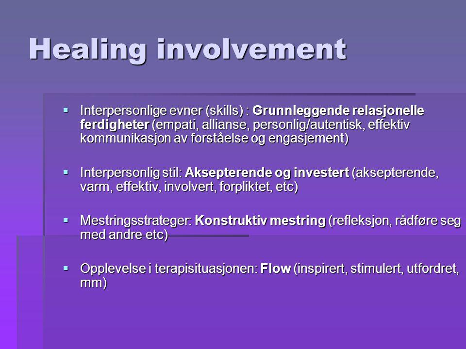 Healing involvement
