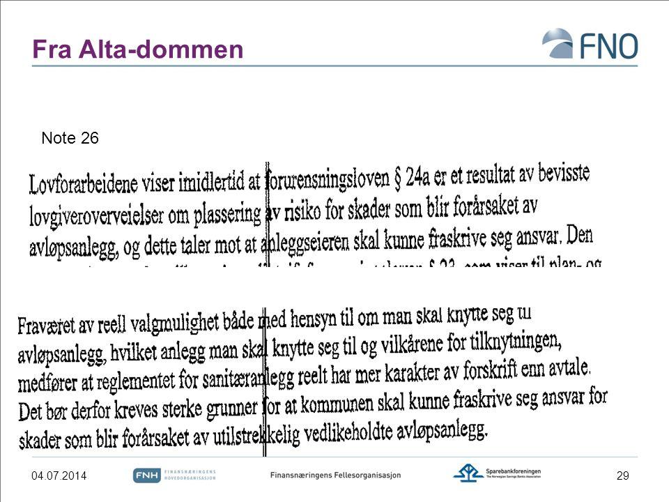 Fra Alta-dommen Note 26 04.04.2017
