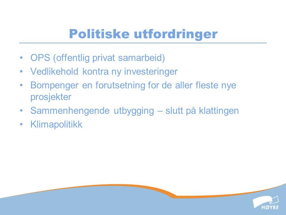 Politiske utfordringer