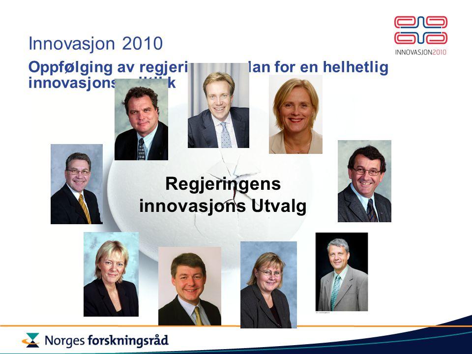Regjeringens innovasjons Utvalg
