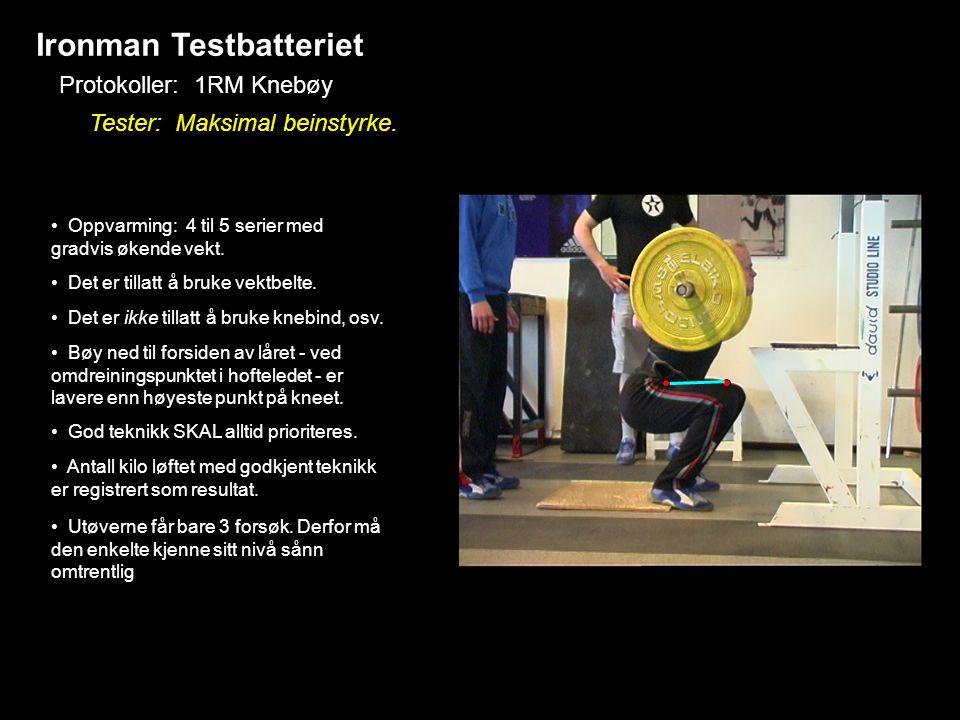 Ironman Testbatteriet