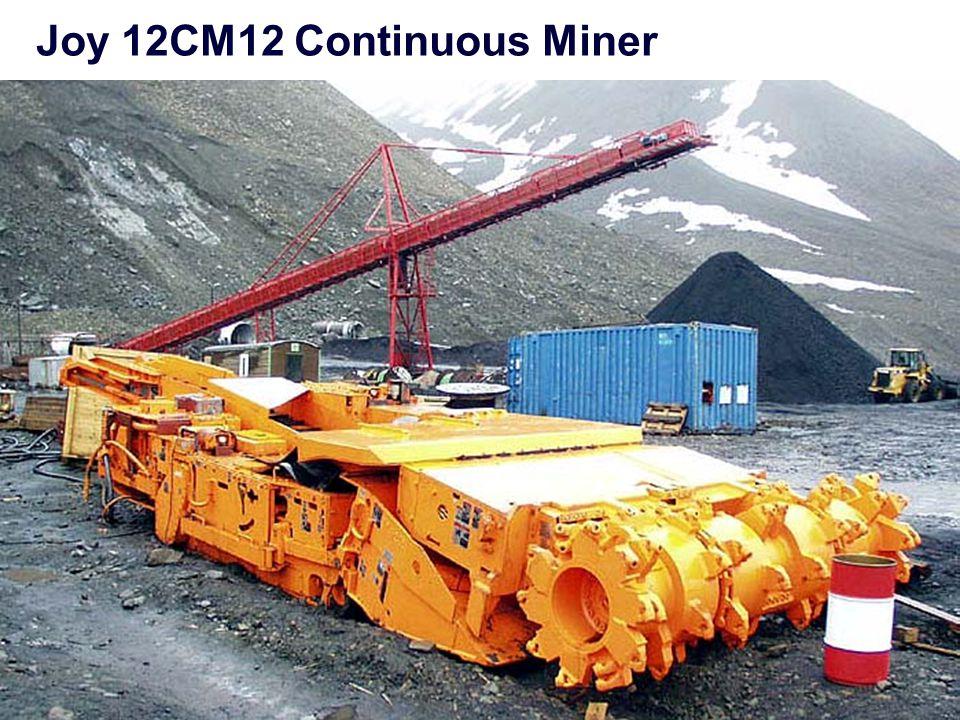 Joy 12CM12 Continuous Miner