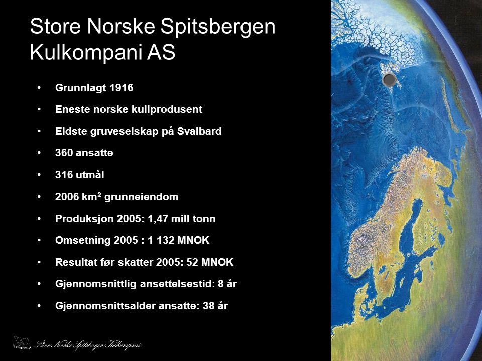 Store Norske Spitsbergen Kulkompani AS