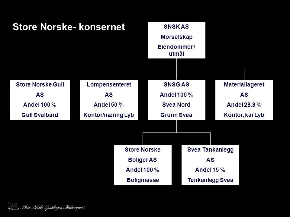 Store Norske- konsernet