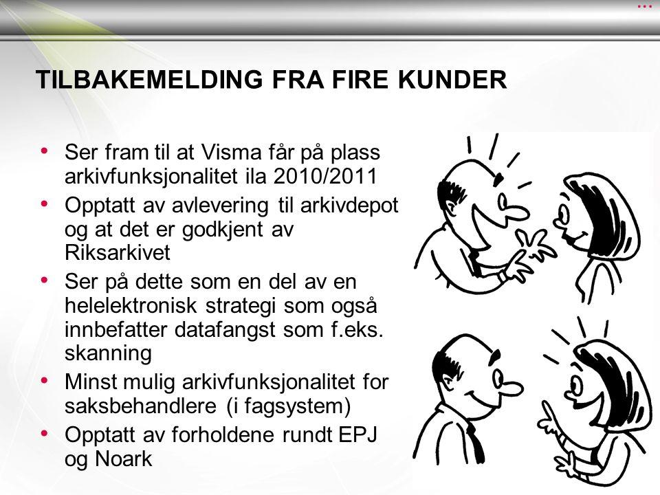 Tilbakemelding fra FIRE kunder