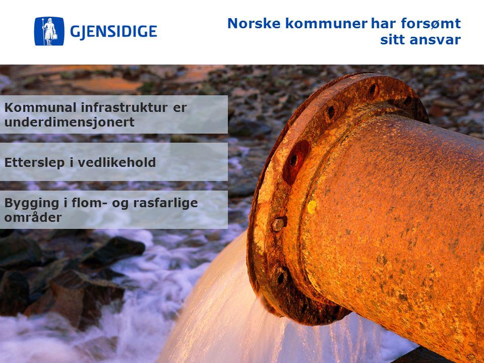 Norske kommuner har forsømt sitt ansvar