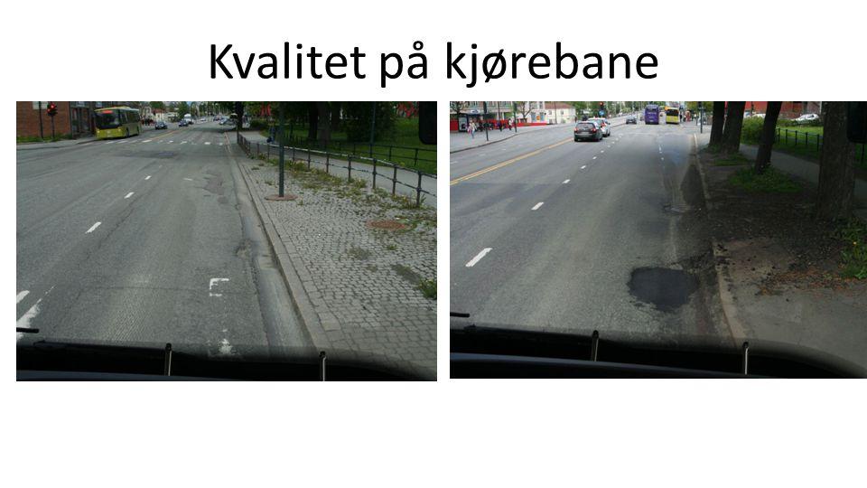 Kvalitet på kjørebane