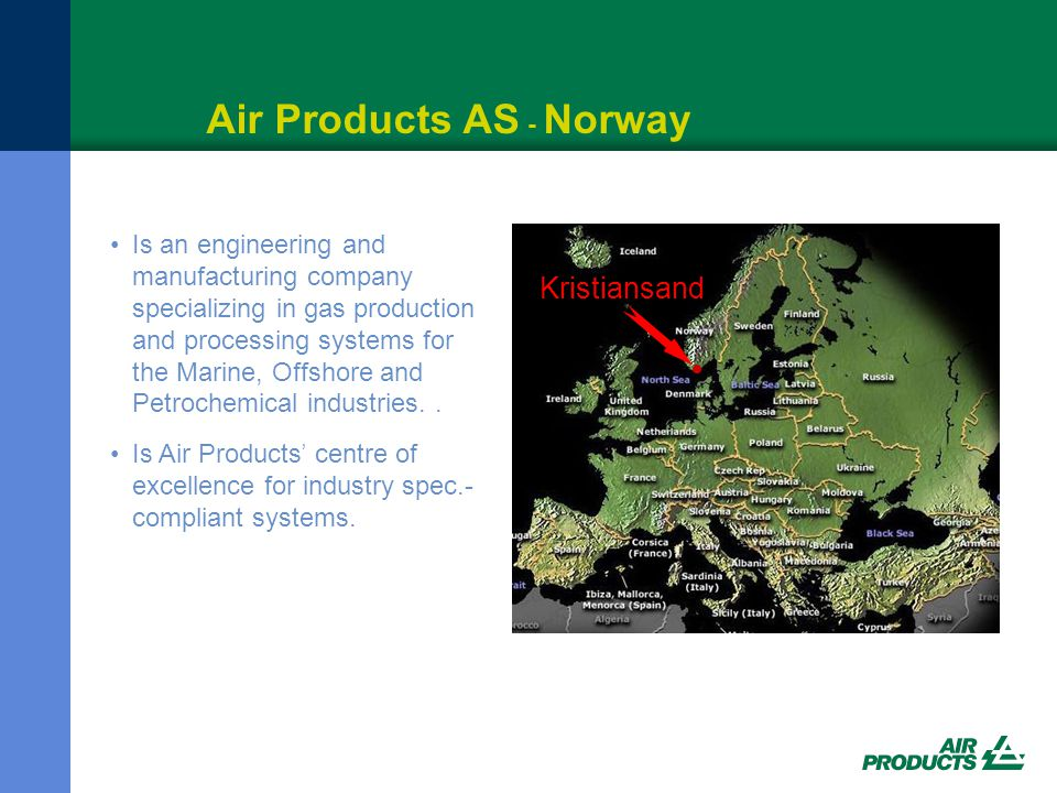 Air Products AS - Norway