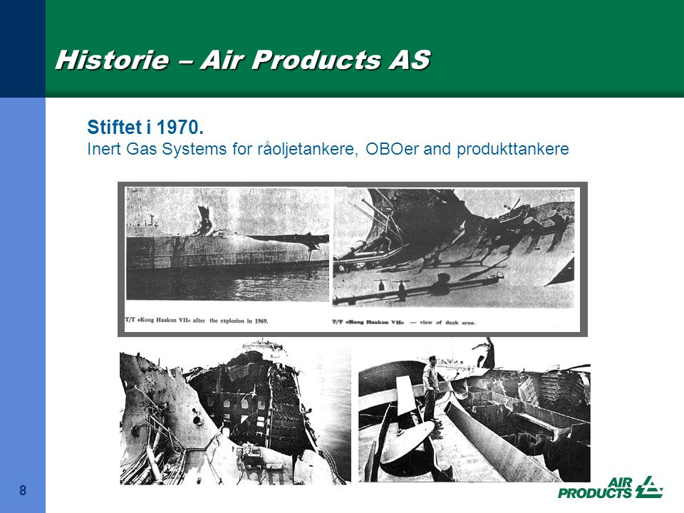 Historie – Air Products AS