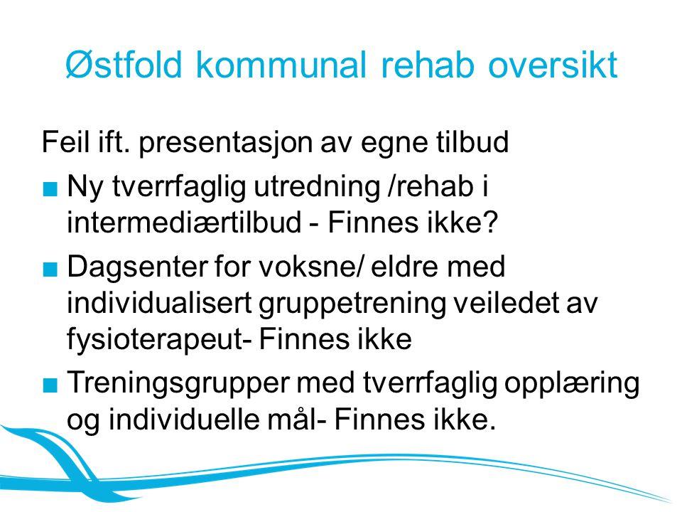 Østfold kommunal rehab oversikt