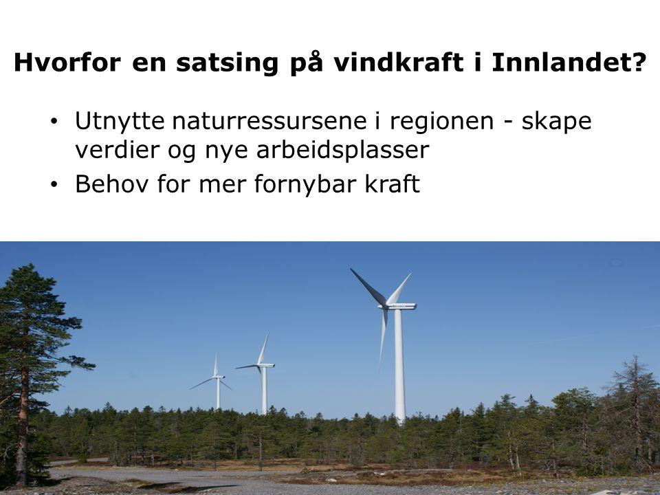 Hvorfor en satsing på vindkraft i Innlandet