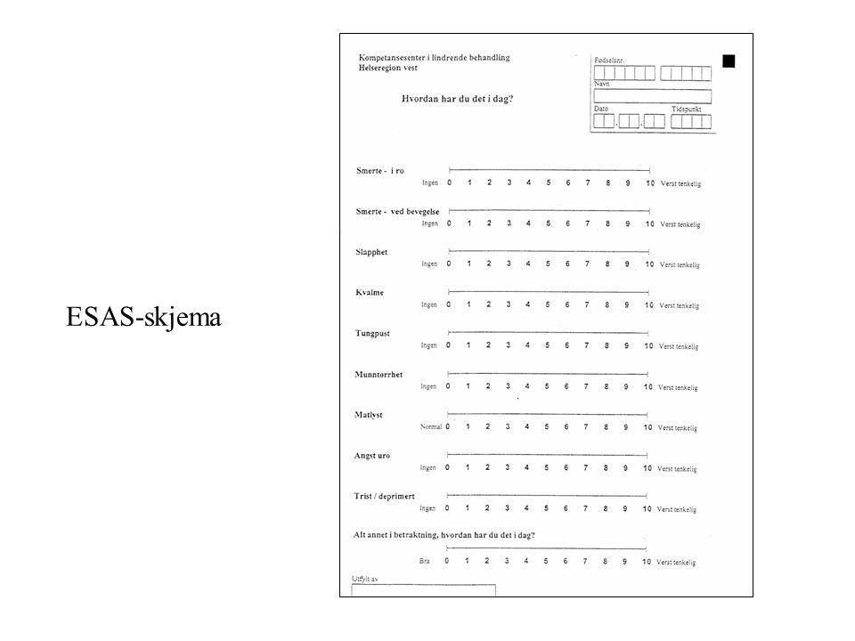 ESAS-skjema