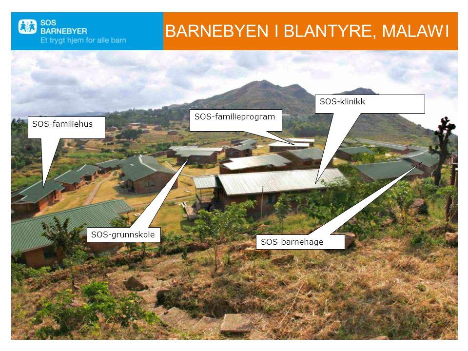 Barnebyen i Blantyre, Malawi