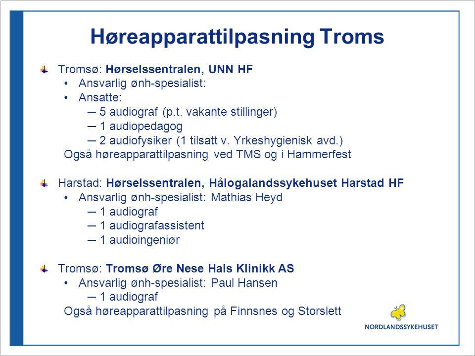 Høreapparattilpasning Troms