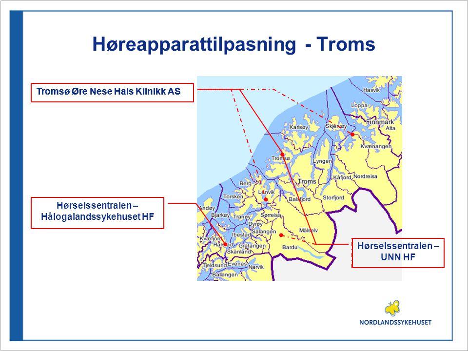 Høreapparattilpasning - Troms