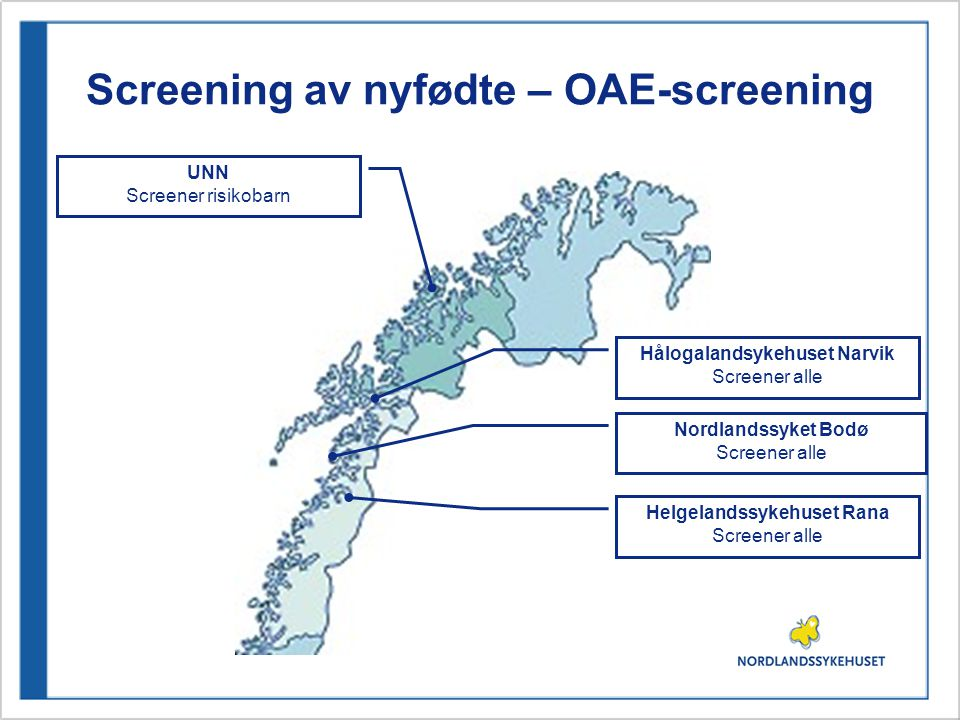 Screening av nyfødte – OAE-screening