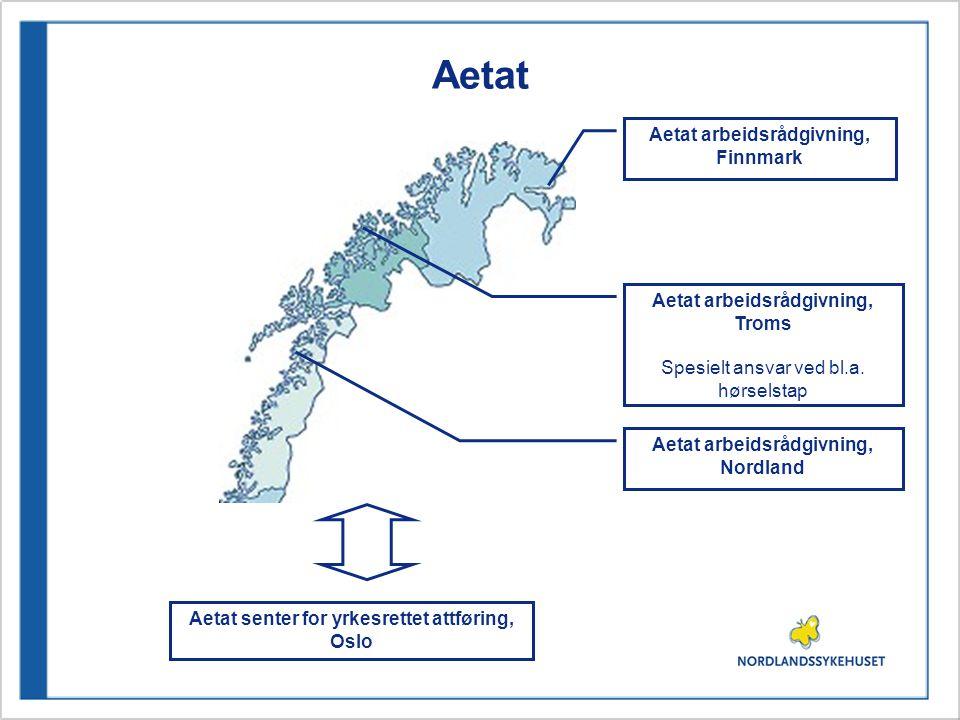 Aetat Aetat arbeidsrådgivning, Finnmark Aetat arbeidsrådgivning, Troms