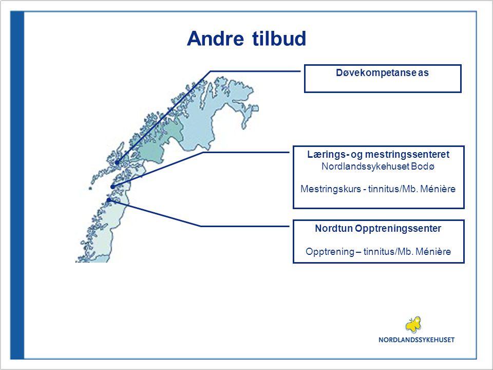Lærings- og mestringssenteret Nordtun Opptreningssenter