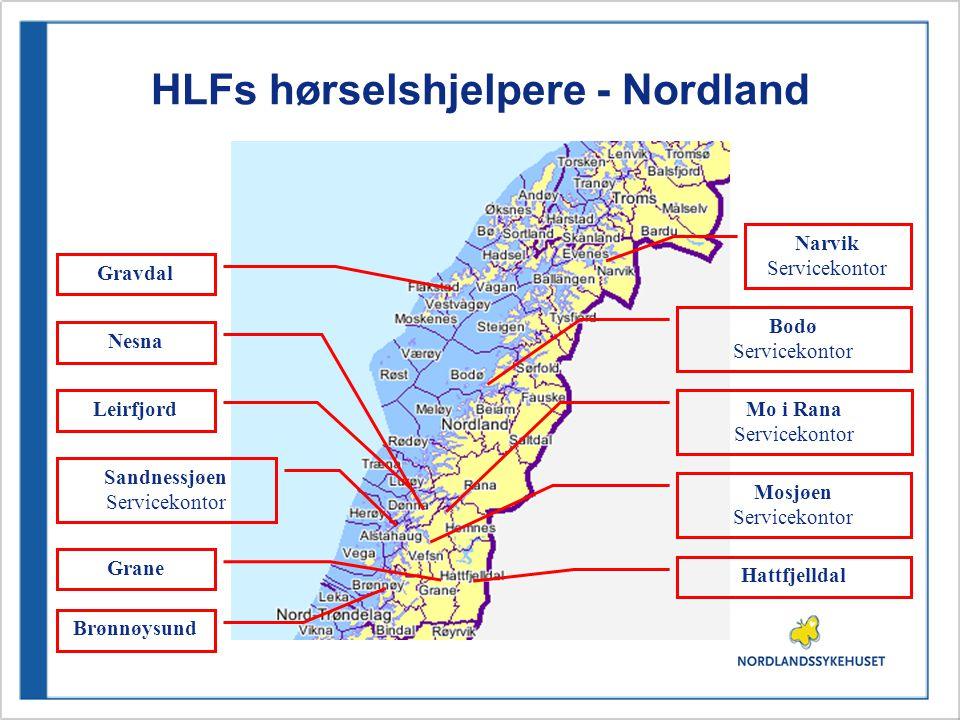 HLFs hørselshjelpere - Nordland