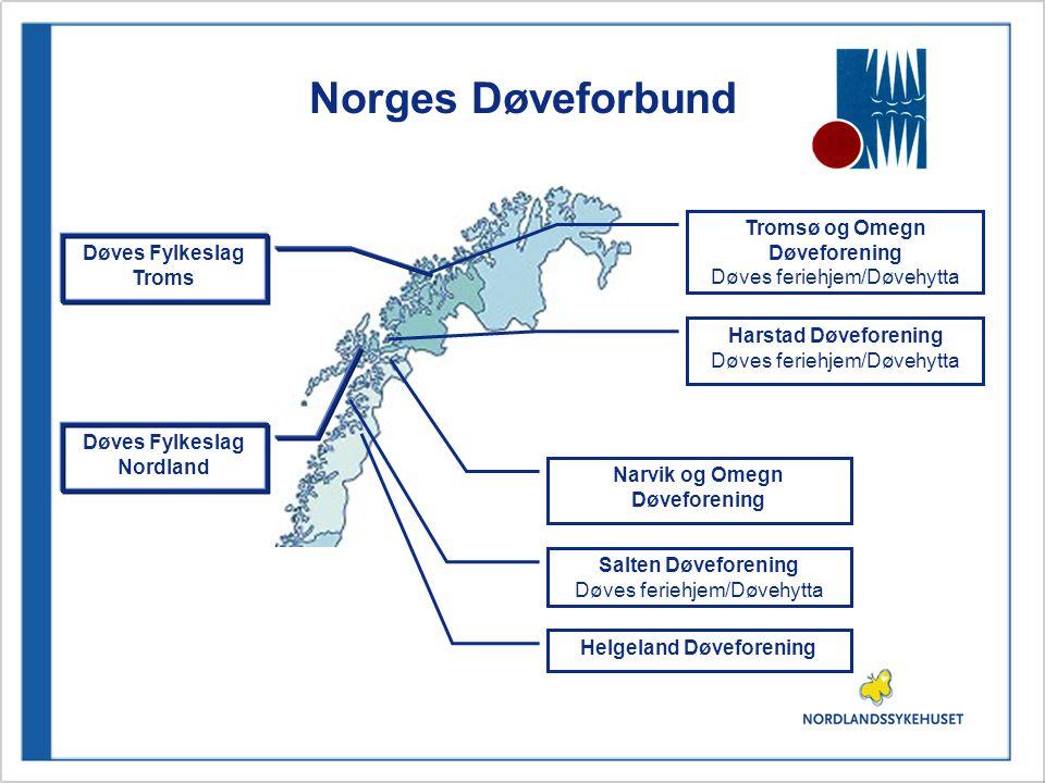 Norges Døveforbund Tromsø og Omegn Døveforening Døves Fylkeslag Troms