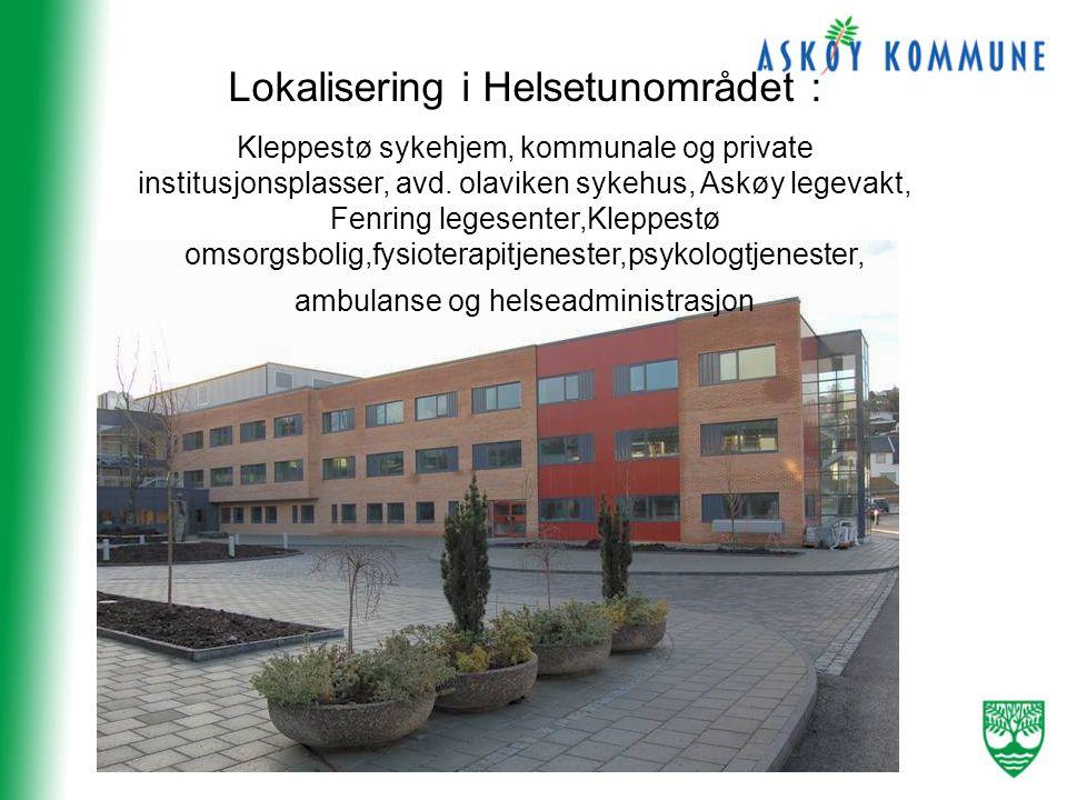 Lokalisering i Helsetunområdet :